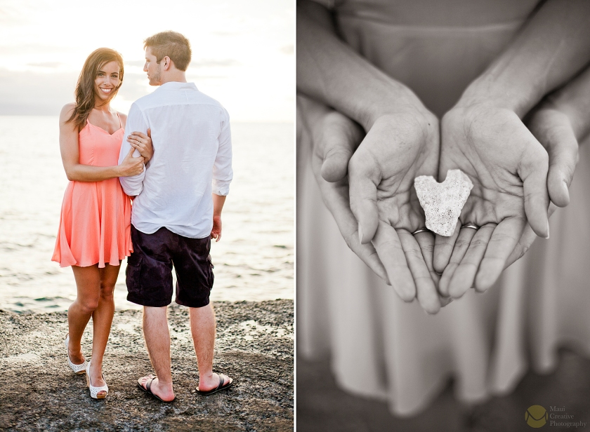 Engagement Session with Dani & Chris by Maui Creative Photography