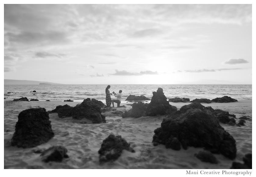 Maui Proposal Photography
