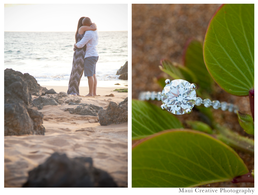 Maui Proposal Photography