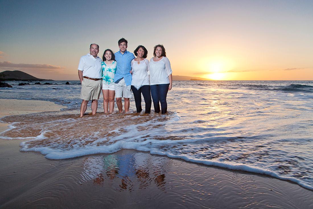 Unique Family Beach Photography South Maui – Ohana P...