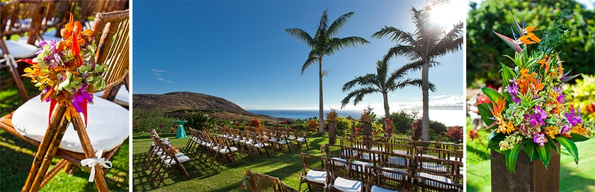 maui; hawaii; love; wedding; mauka lani estate; lahaina; ocean view wedding; tropical