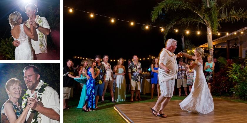 bride; groom; seaside; maui; hawaii; dance; love; wedding