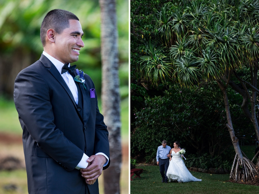 Emily & Gershom's Hawai'i wedding at the Maui Tropical Plantation House. Photography by Matthew Nall & Madelynne Nehl of Maui Creative Photography.